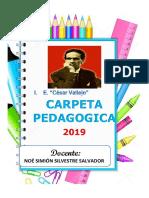 Carpeta Pedagogica 2019 NOSISA