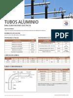 Tuberia conductora aluminio