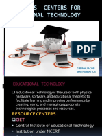 Resources Centers for Educational Technology Ppt