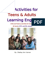 Activities for Teens and Adults