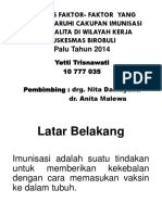 Ptt Analisis Faktor2 Yg Mempengaruhi Cakupan Imunisasi Pada Balita