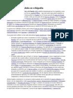 Guerra civil española en wikipedia