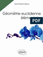 G Om Trie Euclidienne El Mentaire