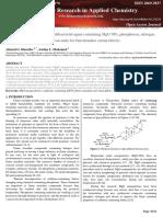 Novel flame retardant and antibacterial agent containing MgO NPs, phosphorus, nitrogen and silicon units for functionalise cotton fabrics