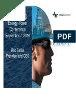 Atwood Oceanics Presentation Sept 7 2016