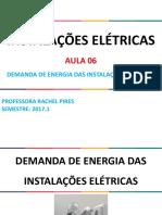Aula 6_Demanda de Energia Das Instalações Elétricas
