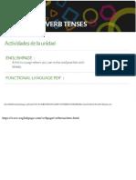 Unit 4 Revision of Verb Tenses