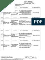 PLANIFICACION DE CLASE I LAPSO  CASTELLANO 1°-2°-3°
