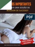 passos importantes para umas sessão boudoir