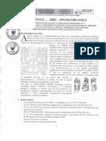 DIRECTIVA 5 Movilizacion Reional Por Las AMTEMATICAS