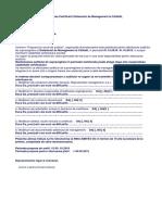 Mentinerea Certificarii Sistemului de Management Al Calitatii