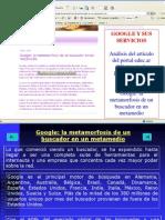 Google Articulo Sobre Sus Servicios PDF