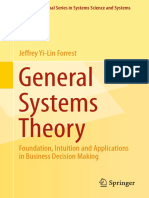 General Systems Theory_ Foundation, Intuition and Applications in Business Decision Making