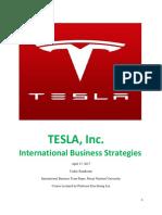 TESLA International Business Strategies