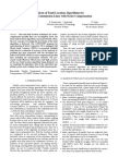 Analysis of Fault Location Algorithms For