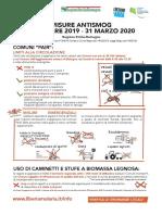 Infografica Misure Antismog 2019 2020