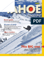 Lake Tahoe Winter Guide 2010