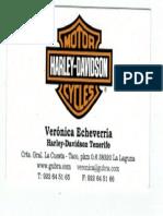 Tarjeta buen comercial Harley Davidson