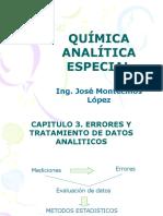 QUÍMICA ANALÍTICA ESPECIAL CAP 2 TRATAMIENTO DE DATOS Y ERRORES.pptx