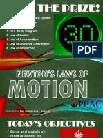 Physics Newton's Laws