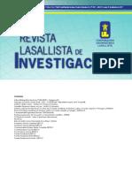 Revista Lasallista de Iinvestigación
