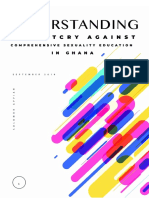Understanding the Outcry Against Comprehensive Sexuality Education in Ghana