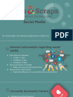 Arts and Scraps Social Media Analysis