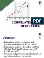 Session 4 Correlation and Regression