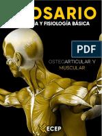 GLOSARIO - ANATOMÍA Y FISIOLOGÍA BÁSICA OSTEOARTICULAR Y MUSCULAR