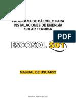 Manual Usuario Escosol SD1
