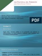 UNNE -  Abogacía - Administrativo 1 - Servicios Públicos y Obras Públicas