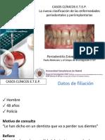 Caso clínico nueva clasificación periodontal