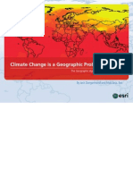 Climate Change is a Geographic Problem