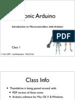 Bionic Arduino Class1