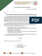 Lista y Programa Artístico NIÑOS FIA 2O19 1