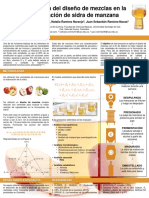 Aplicación del diseño de mezclas en la formulación de sidra de manzana