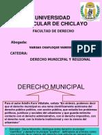 Derecho Municipal I