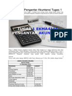 Tugas 1 Pengantar Akuntansi
