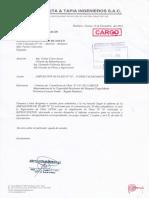 Carta N° 112-2014-ATINSAC-HTM-JS-AMPLIACION DE PLAZO N 05