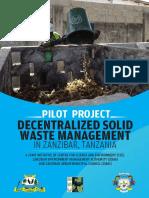Decentralised solid waste management in Zanzibar, Tanzania