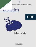 Boletim 2018 memória