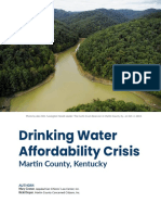 Drinking Water Affordability Crisis Martin County Kentucky