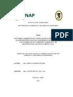 Factores Ambientales y Prevalencia de Parasitosis Gastrointestinales en Mamíferos Silvestres en Cautiverio