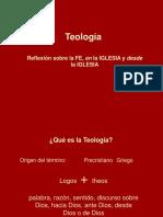 Presentación Tema 1 Qué Es La Teología