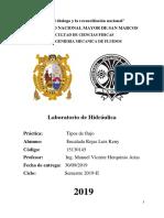 Informe 3 - Lab. Hidraulica