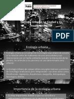 Ecología Urbana 1