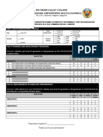 survey questionnaire format 2019