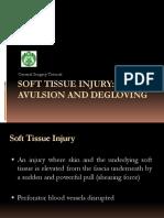 Avulsion and Degloving Injury
