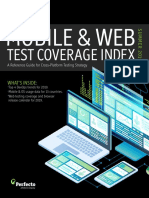 Perfecto Test Coveragee Index Summer 2019