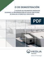 Libro Eliminacion de Huevos de Helmintos Parasitos Con Filtro de Mallas Hydrotech Discfilter